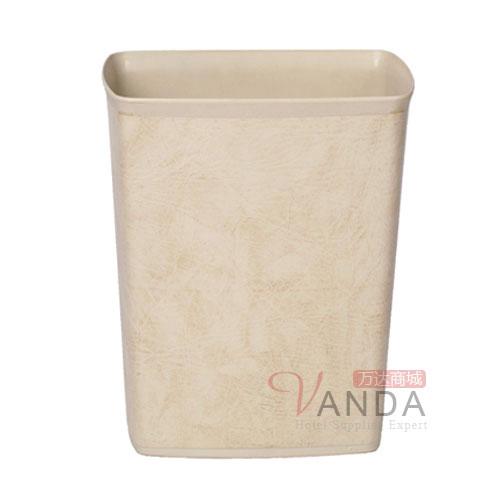 方锥形塑料单层垃圾桶(阻燃)